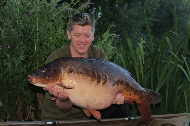 Ian Blackwell was delighted to catch the stunning 'Pretty One' from the Cottage swim.