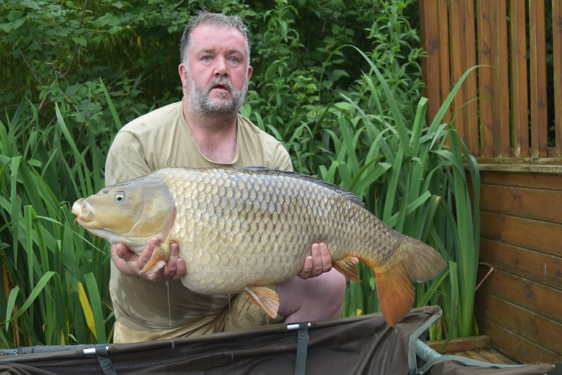 Jason Booth  with the first of two PB 30's. A 30-06 Common from Osprey Lodge