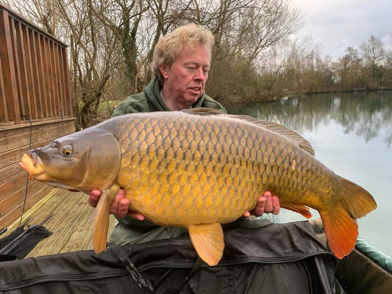 Mike with an impressive Common of 31-08