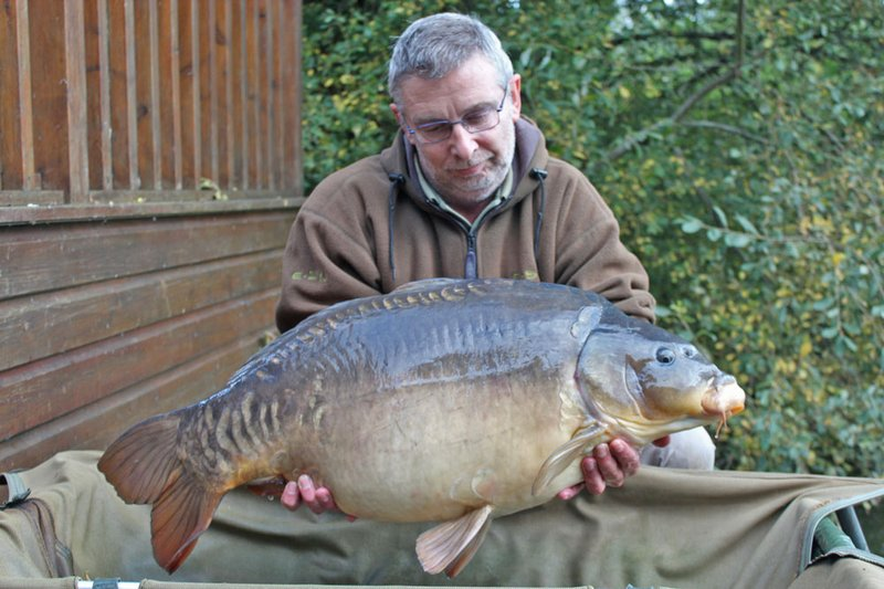 Malcolm Stone became the 112th member of the Cherry Lake 30+ club when he landed this 33-08 Mirror from Heron Lodge