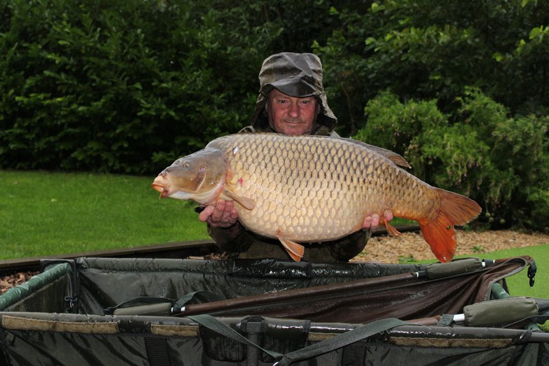 Marc Vicarey with a 34-12 Common. The biggest of 4 Commons caught on his first visit.
