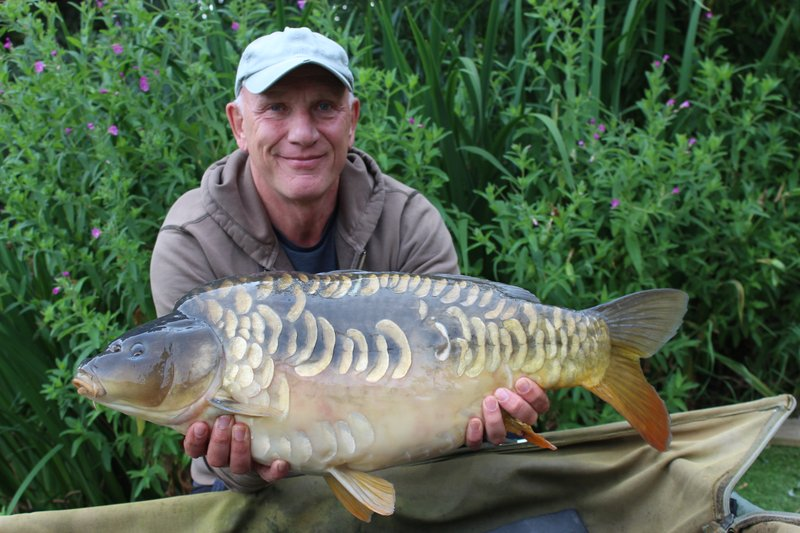 Neil Flack with a lovely 22lb Mirror from Cherry Springs