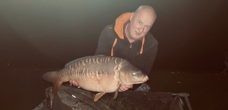 Paul Futter was very pleased with this lovely Mirror of 22-04 from Cherry Mere
