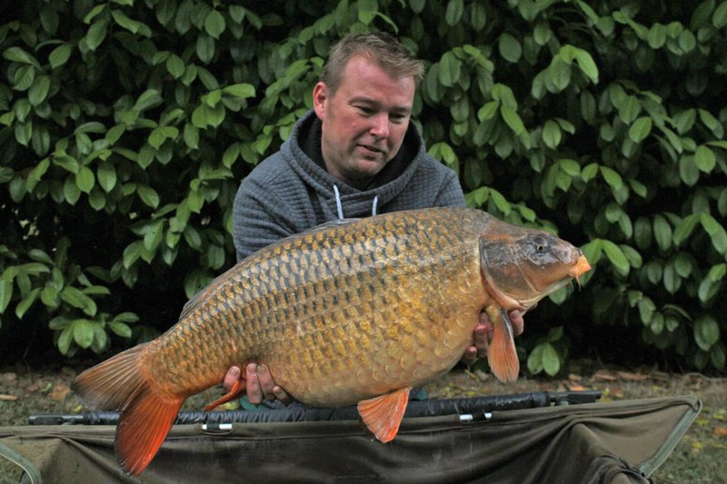 Terry Lambert with his new PB Common. A 31-04 Common from Cherry Lake Cottage. The first of a lovely brace.