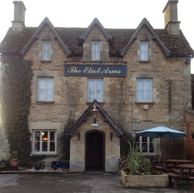 The Eliot Arms is one of three good pubs  walking distance away in South Cerney.jpg
