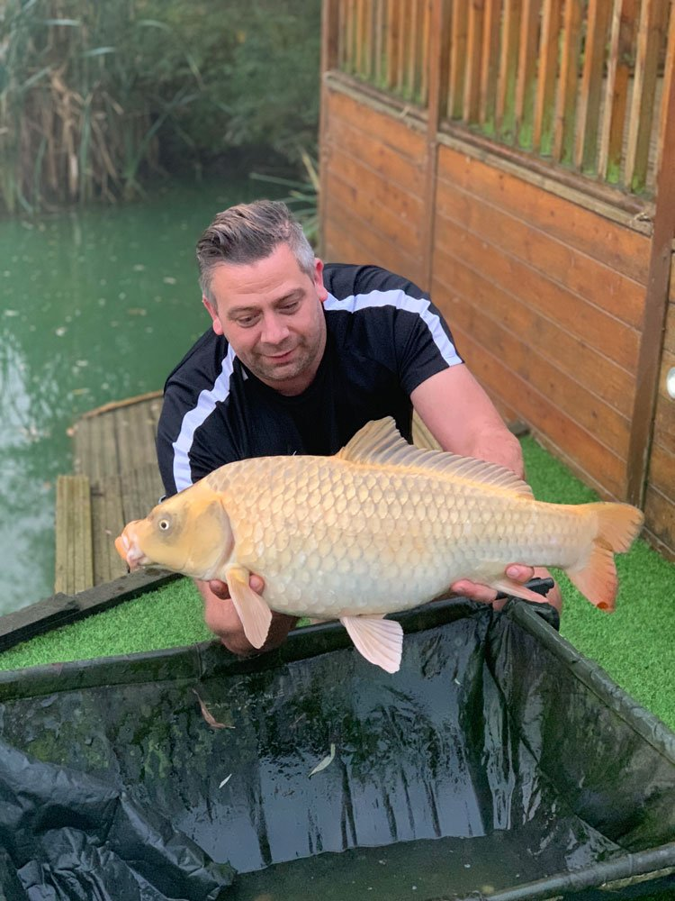 This 14-04 Ghost Common caught by Neil Rowe from Cherry Mere looks more like a Goldfish!