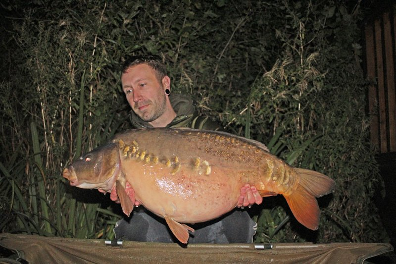 Vince Jewitt joined the Cherry Lake 30+ club as our 110th member with this 30-12 Mirror.