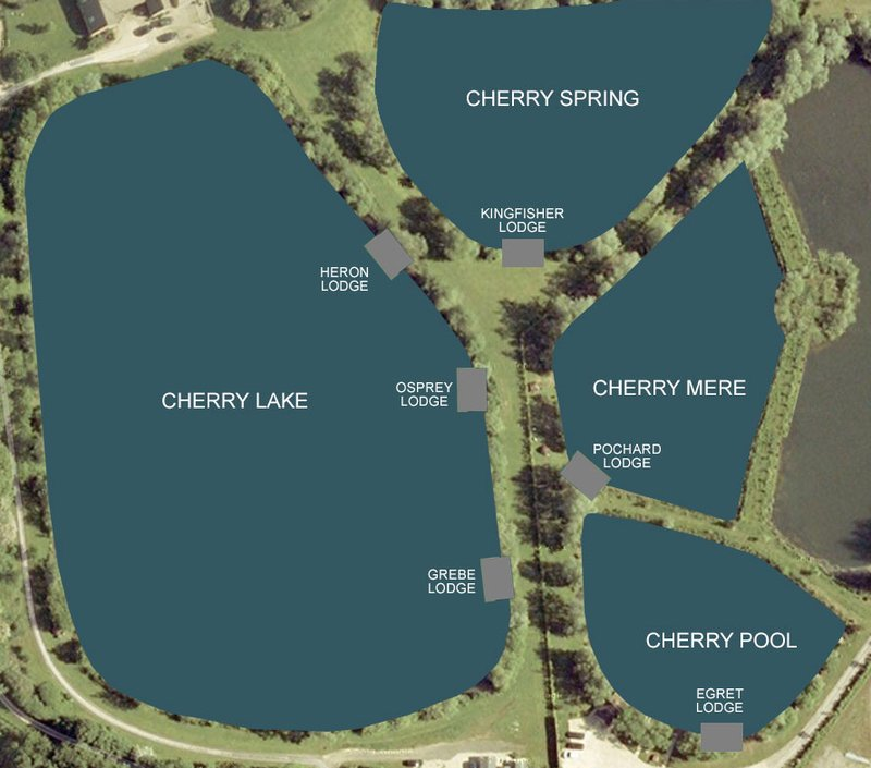 Cherry Lakes Complex Map