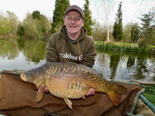 A stunning Mirror of 22-08 caught by Mark Goodyear from Cherry Mere.